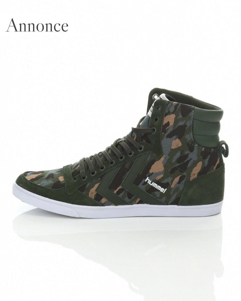 Hummel 'Slimmer Stadil Camou sneakers hi