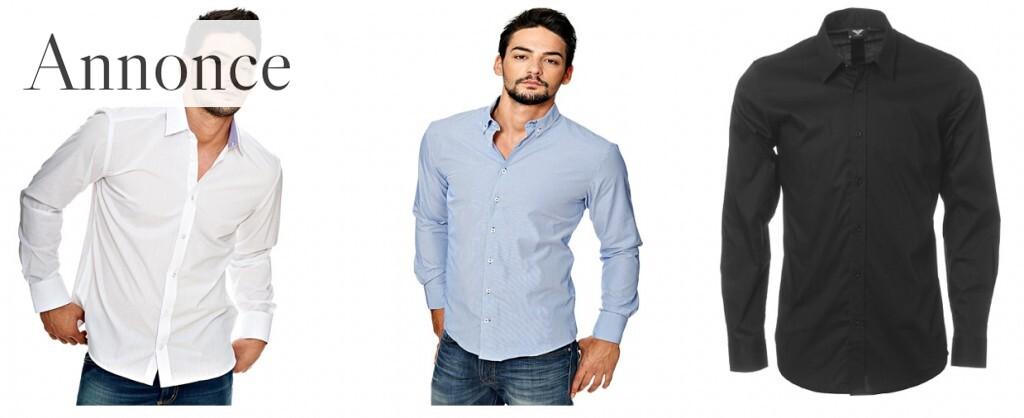 Find din klassiske langærmet skjorte her
