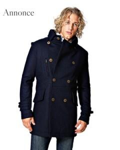 Varm uldjakke til vinteren